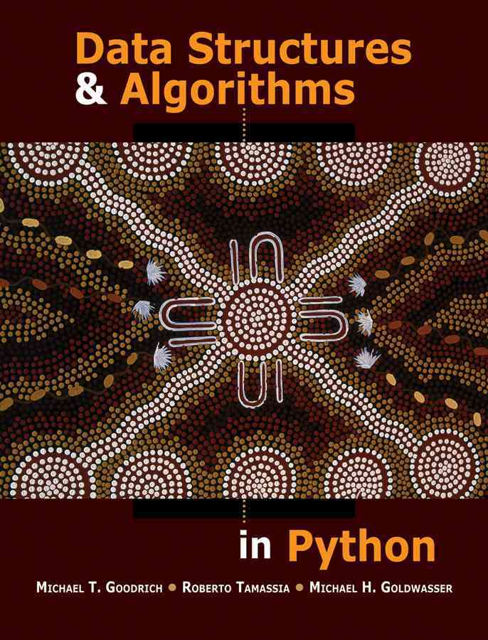 Data Structures and Algorithms in Python By Goodrich, Michael T./ Tamassia, Roberto